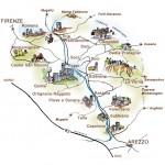 Le disponibilità alberghiere a Bibbiena & dintorni